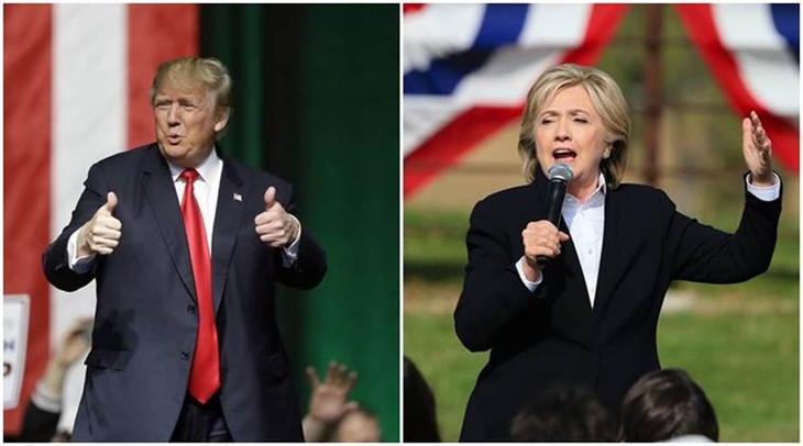US election 2016: Hillary Clinton's lead over Donald Trump narrowed - ảnh 1