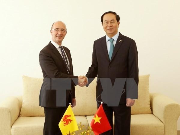 President Tran Dai Quang wraps up overseas trip  - ảnh 1