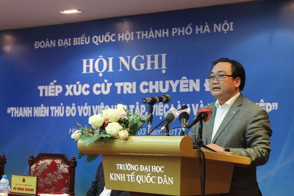 Hanoi pledges full support for budding entrepreneurs  - ảnh 1