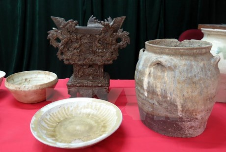 Vietnamese archaeological treasures continue Germany tour  - ảnh 1