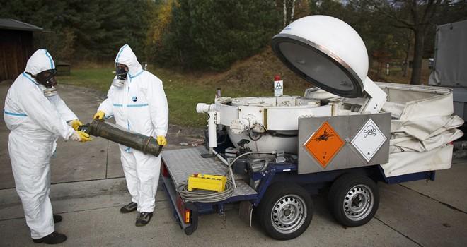 ซีเรียให้คำมั่นที่จะผลักดันการทำลายอาวุธเคมี - ảnh 1
