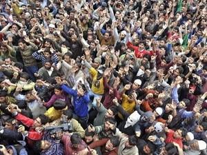 ชาวลิเบียนับพันคนชุมนุมประท้วงรัฐสภา - ảnh 1