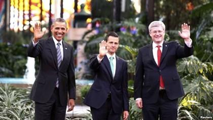 การประชุมผู้นำประเทศทวีปอเมริกาเหนือเปิดขึ้นแล้ว - ảnh 1