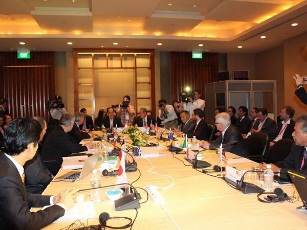 ญี่ปุ่นและสหรัฐยังคงมีความขัดแย้งด้านการค้าในการประชุมเกี่ยวกับข้อตกลง TPP - ảnh 1