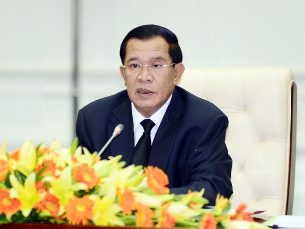 นายกรัฐมนตรีกัมพูชาเสนอให้ยกเลิกคำสั่งห้ามการชุมนุม - ảnh 1