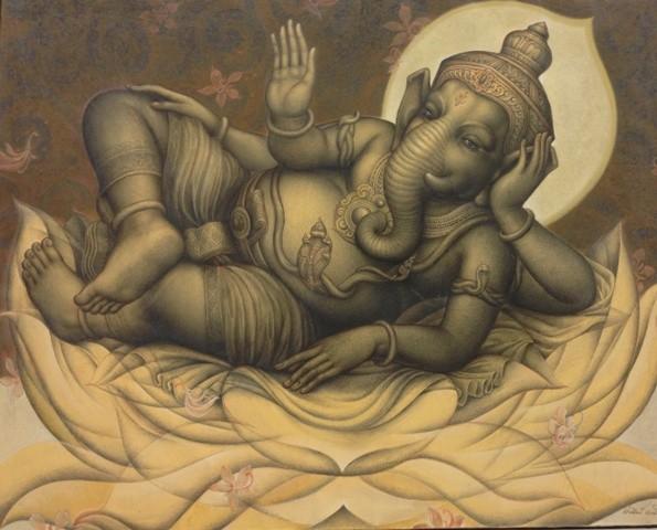 นิทรรศการศิลปะสมัยใหม่ไทย - เวียดนาม - ảnh 14
