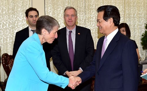 ผลักดันความสัมพันธ์ร่วมมือในทุกด้านระหว่างเวียดนามกับสหรัฐ - ảnh 1
