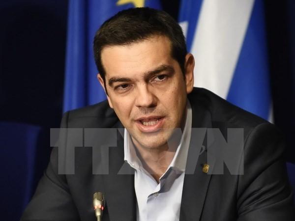 นายกรัฐมนตรีกรีซเรียกร้องให้ไม่ยอมรับแรงกดดันจากกลุ่มเจ้าหนี้ - ảnh 1