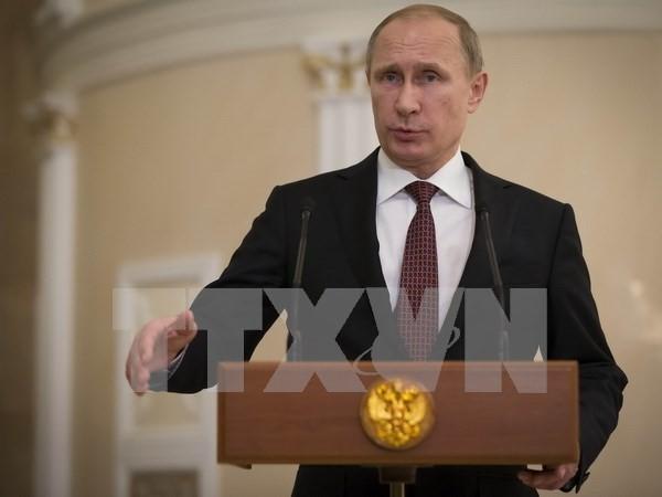 ประธานาธิบดีรัสเซียสั่งให้ปรับปรุงยุทธศาสตร์ความมั่นคงแห่งชาติ - ảnh 1