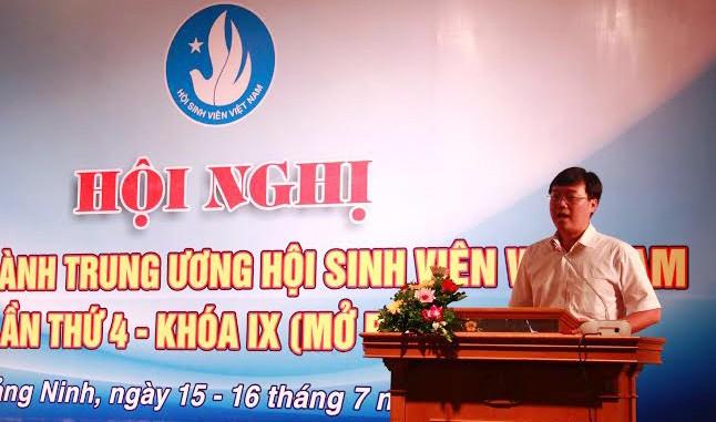 การประชุมคณะกรรมการบริหารสมาคมนักศึกษาเวียดนามครั้งที่๔สมัยที่๙   - ảnh 1