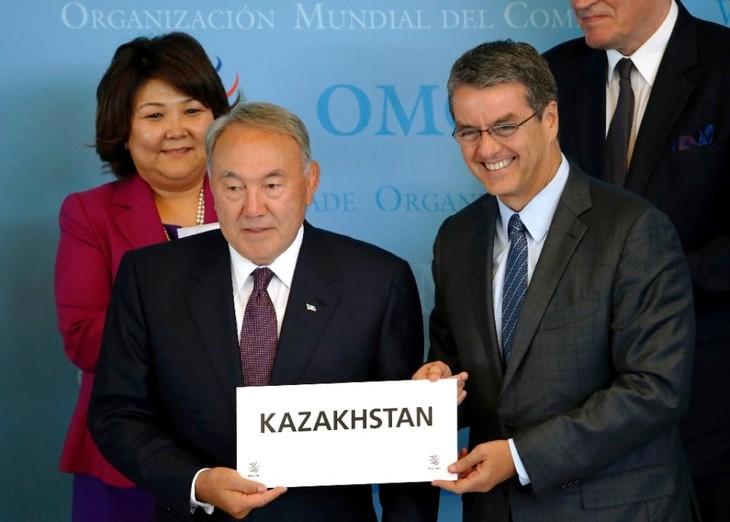 คาซัคสถานกลายเป็นสมาชิกที่๑๖๒ของWTO - ảnh 1