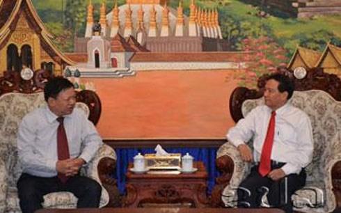เวียดนาม-ลาวผลักดันความร่วมมือด้านวัฒนธรรมและการท่องเที่ยว - ảnh 1