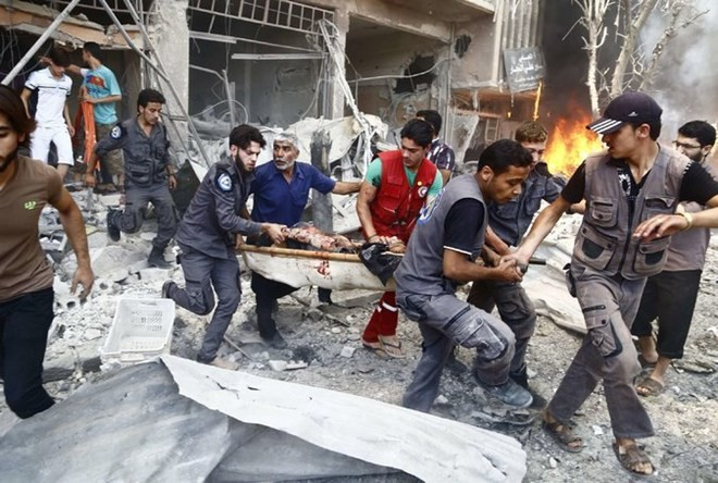สหประชาชาติผลักดันมาตรการแก้ไขวิกฤตในประเทศซีเรีย - ảnh 1