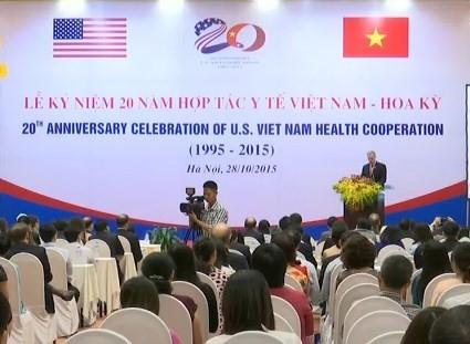 พิธีฉลองครบรอบ๒๐ปีความร่วมมือด้านสาธารณสุขระหว่างเวียดนามกับสหรัฐ - ảnh 1