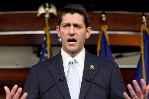 นาย Paul Ryan ได้รับเลือกให้ดำรงตำแหน่งประธานสภาล่างสหรัฐคนใหม่ - ảnh 1