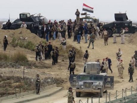 กองทัพอิรักวางแผนทำลายกลุ่มไอเอส - ảnh 1