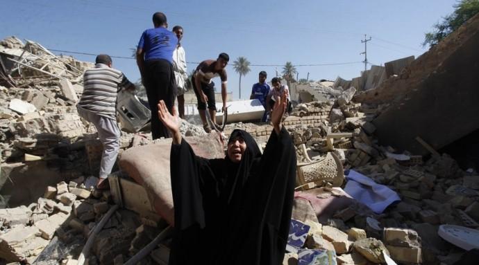 สหประชาชาติประกาศตัวเลขเกี่ยวกับจำนวนผู้เสียชีวิตจากการปะทะในอิรัก - ảnh 1