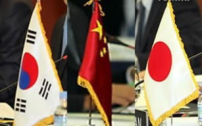 ข้อตกลงเอฟทีเอระหว่างจีน ญี่ปุ่นและสาธารณรัฐเกาหลีไม่บรรลุความคืบหน้าใดๆ - ảnh 1