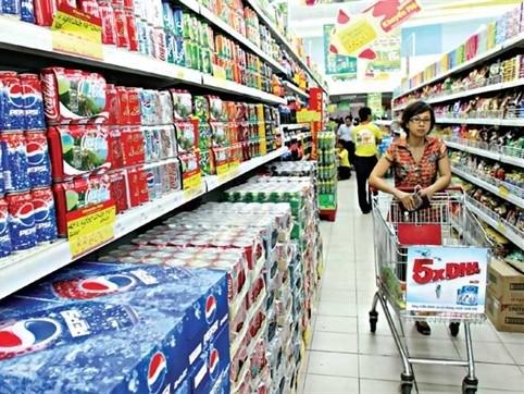 กลุ่มสินค้าอุปโภคบริโภคที่มีอัตราการบริโภคสูงพยายามครองส่วนแบ่งตลาดภายในประเทศ - ảnh 1