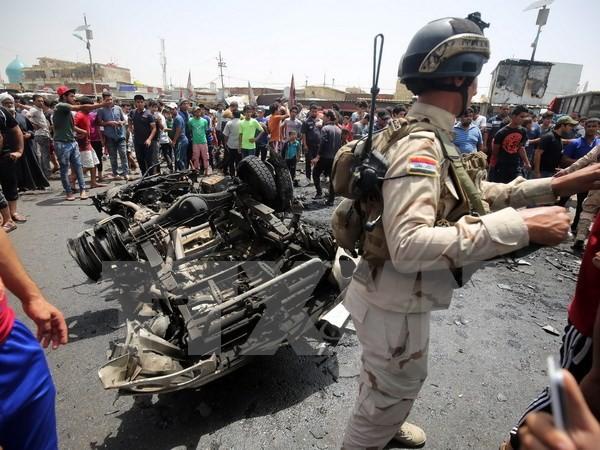 เกิดเหตุลอบวางระเบิด๒ครั้งในประเทศอิรัก - ảnh 1
