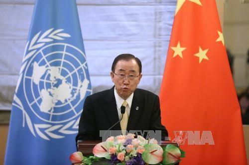 เลขาธิการใหญ่สหประชาชาติแสดงความวิตกกังวลต่อสถานการณ์ความตึงเครียดบนคาบสมุทรเกาหลี - ảnh 1