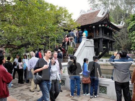 จำนวนนักท่องเที่ยวต่างชาติที่มาเยือนกรุงฮานอยใน๖เดือนแรกของปี๒๐๑๖อยู่ที่กว่า๒ล้านคน - ảnh 1