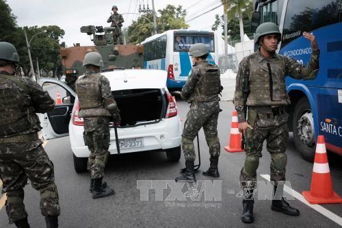 บราซิลเพิ่มมาตรการรักษาความปลอดภัยให้แก่การแข่งขันกีฬาโอลิมปิก ริโอ๒๐๑๖ - ảnh 1