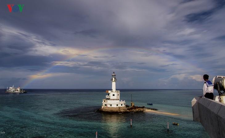 ความสวยงามของหมู่เกาะเจื่องซา - ảnh 9