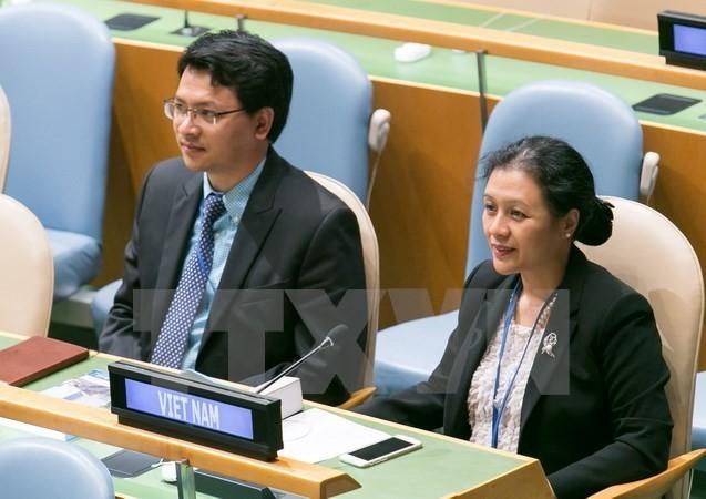 เวียดนามเรียกร้องให้ประเทศต่างๆปฏิบัติตามคำมั่นเกี่ยวกับการปลอดนิวเคลียร์ - ảnh 1