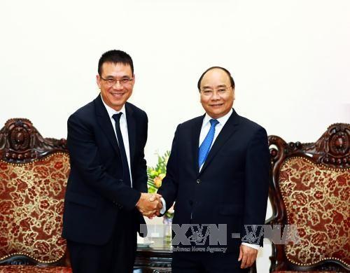 นายกรัฐมนตรีเวียดนามให้การต้อนรับประธานเครือบริษัทเอสซีจี - ảnh 1
