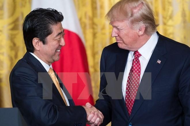 ญี่ปุ่นและสหรัฐเห็นพ้องที่จะประสานงานอย่างใกล้ชิดเกี่ยวกับปัญหาของเปียงยาง - ảnh 1