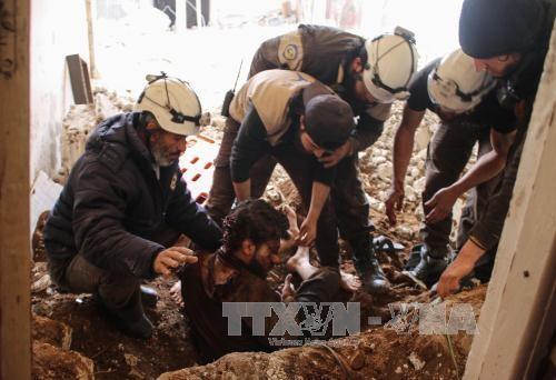 รัสเซียและอิหร่านตำหนิการโจมตีด้วยขีปนาวุธของสหรัฐใส่ซีเรีย - ảnh 1