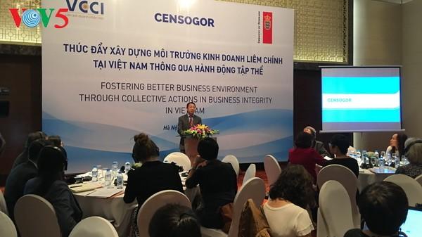 ผลักดันการสร้างบรรยากาศการประกอบธุรกิจที่โปร่งใสในเวียดนาม - ảnh 1