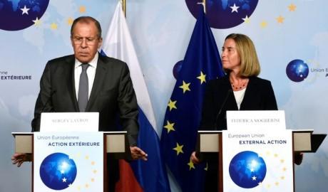 ผลักดันการปรับความสัมพันธ์ระหว่างรัสเซียกับอียู - ảnh 1