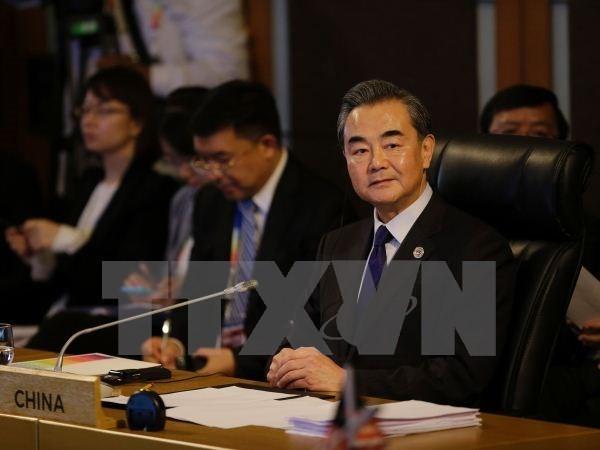 จีนยื่นข้อเสนอ7ข้อเกี่ยวกับการยกระดับความสัมพันธ์กับอาเซียน - ảnh 1