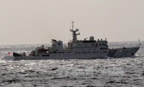 เรือจีนแล่นเข้ามาในเขตน่านน้ำของญี่ปุ่น - ảnh 1