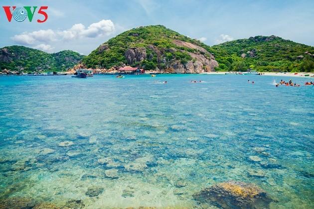ความสวยงามของเกาะบิ่งบา - ảnh 11