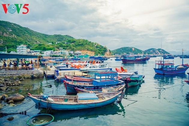 ความสวยงามของเกาะบิ่งบา - ảnh 1