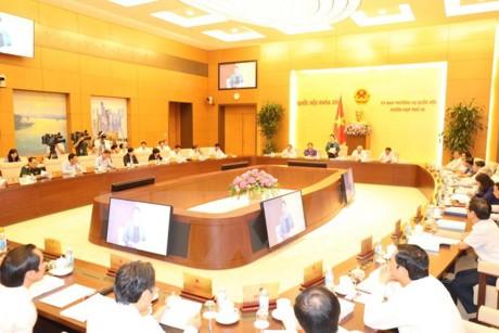 เปิดการประชุมคณะกรรมาธิการสามัญแห่งรัฐสภาครั้งที่14 - ảnh 1