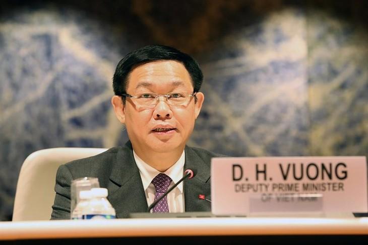 รองนายกรัฐมนตรีเวืองดิ่งเหวะพบปะกับผู้บริหารองค์การระหว่างประเทศที่มีสำนักงานในเมืองเจนีวา - ảnh 1