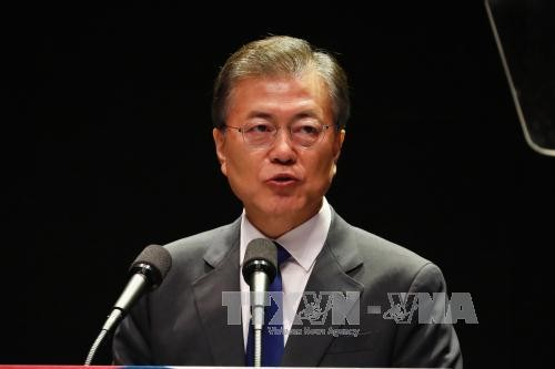 สาธารณรัฐเกาหลีเรียกร้องให้ประชาคมโลกแก้ไขความตึงเครียดบนคาบสมุทรเกาหลี - ảnh 1