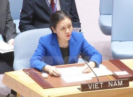 เวียดนามจะร่วมกับประชาคมโลกแปรแถลงการณ์ทางการเมืองเกี่ยวกับการต่อต้านการค้ามนุษย์ให้เป็นรูปธรรม - ảnh 1