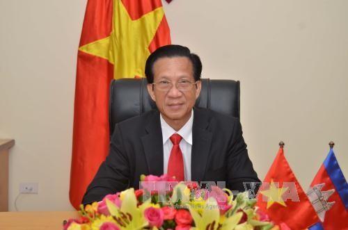 รัฐสภากัมพูชาให้การสนับสนุนต่อการขยายความสัมพันธ์ร่วมมือกับเวียดนาม - ảnh 1