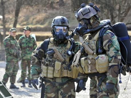 สหรัฐให้คำมั่นที่จะทำลายอาวุธเคมีตามกำหนด - ảnh 1