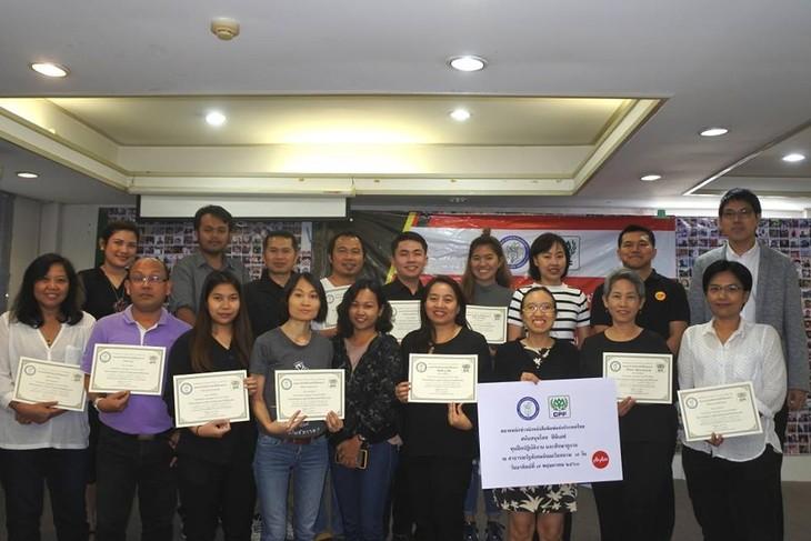 สมาคมนักข่าวเวียดนามและสมาคมนักข่าวนักหนังสือพิมพ์แห่งประเทศไทยขยายความร่วมมือในด้านการฝึกอบรมภาษา - ảnh 2