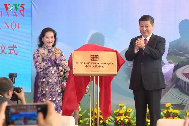 พิธีเปิดตัวศูนย์มิตรภาพเวียดนาม-จีน - ảnh 1