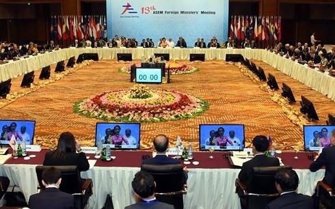 เวียดนามมีส่วนร่วมอย่างแข็งขันต่อกิจกรรมต่างๆของอาเซม - ảnh 1