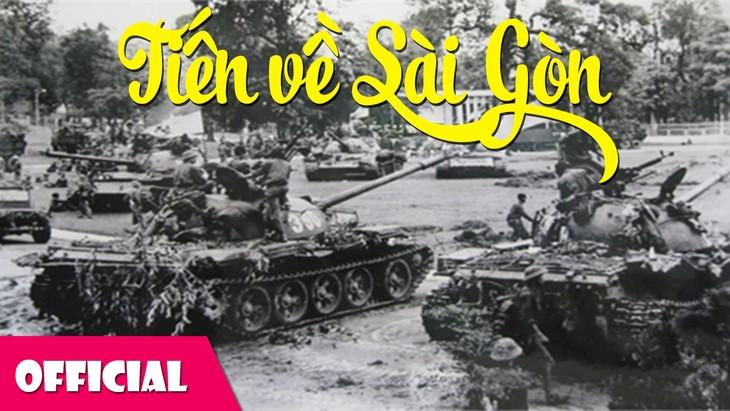 """เพลง""""Tiến về Sài Gòn"""" หรือ """"มุ่งสู่ไซ่ง่อน"""" - ảnh 1"""