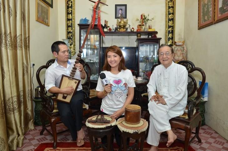 มิตรชาวไทยกับศิลปะการร้องเพลงพื้นเมืองกาจู่เวียดนาม - ảnh 4
