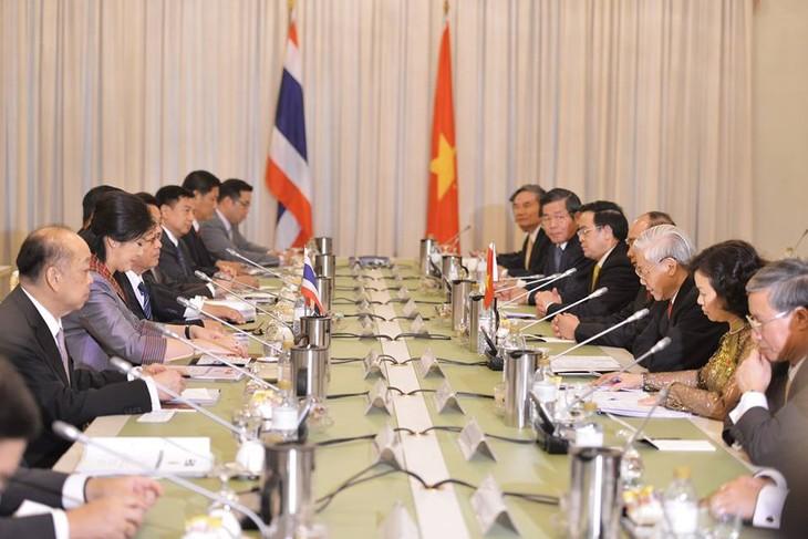 ยกระดับความสัมพันธ์เวียดนาม-ไทยไปสู่ความเป็นหุ้นส่วนทางยุทธศาสตร์  - ảnh 1
